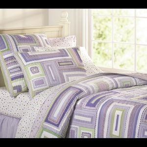 "Pottery Barn Kids twin ""Katie"" quilt"